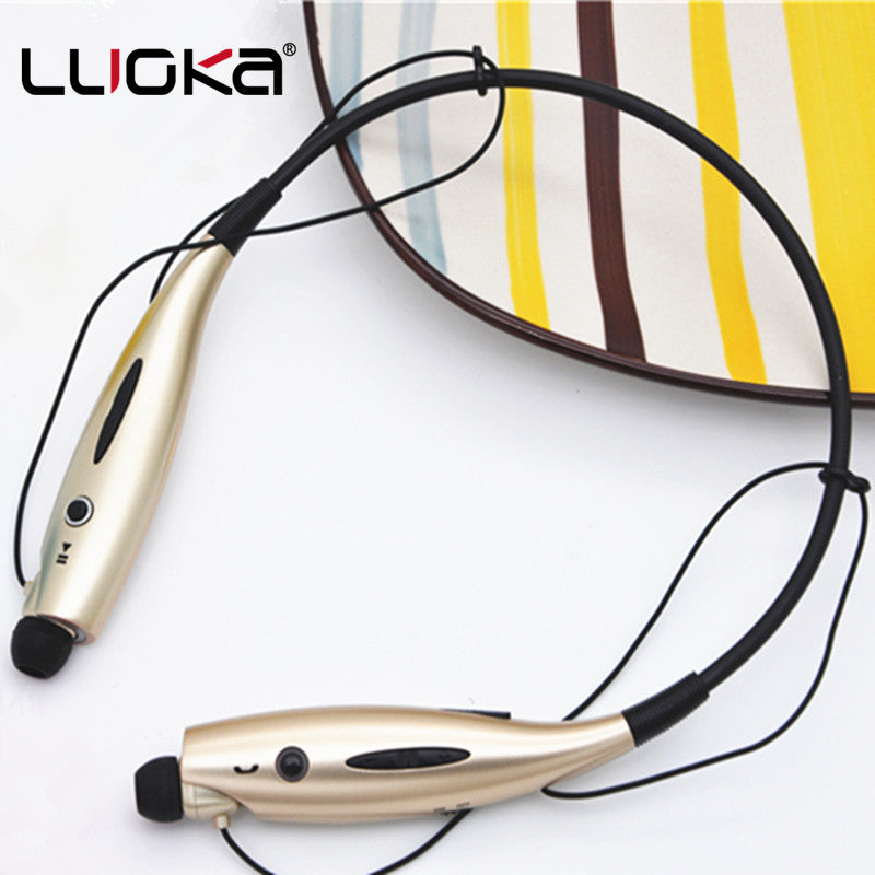 LUOKA 730 Wireless Bluetooth Headset Sports Bluetooth Earphones