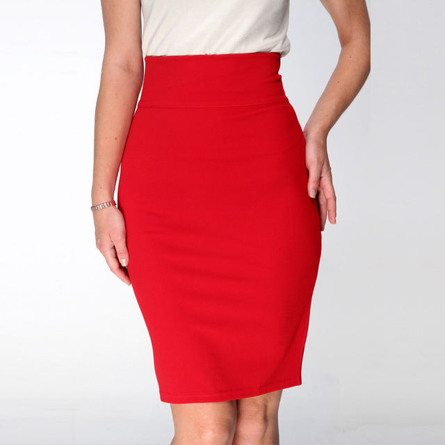 A Forever 2017 Hot Sale Women Skirt Pencil Skirt With High Waist Tight
