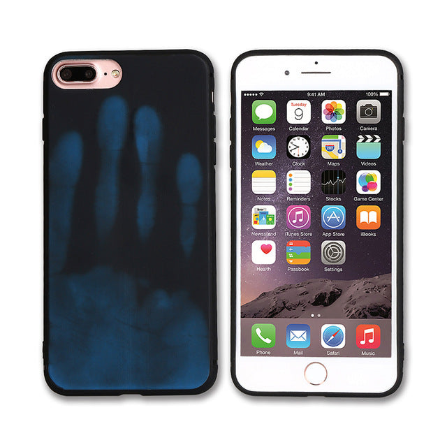 Luxury Soft TPU Thermal Sensor Case For iPhone 7 7 Plus 6 6S Plus