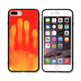 Luxury Soft TPU Thermal Sensor Case For iPhone 7 7 Plus 6 6S Plus Physical Heat Cases For Apple iPhone 5 5S SE Phone Accessories