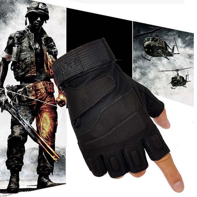 Brand New Outdoor Sports Fingerless Military Tactical Hunting Riding