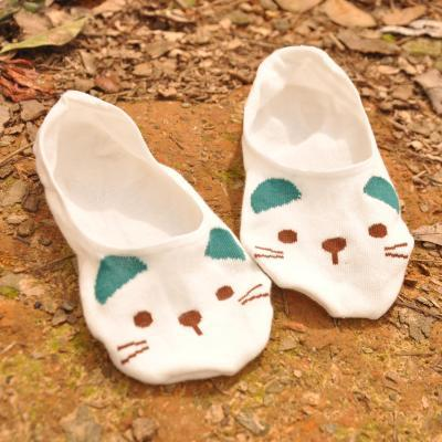 summer comfortable cotton bamboo fiber girl women's socks ankle low female invisible  color girl boy hosier 1pair=2pcs WS72