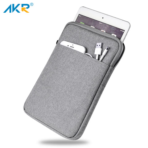 Shockproof Tablet Sleeve Pouch Case for iPad mini 2 3 4 iPad Air 1/2  Pro 9.7 inch Cover thick AKR 2017 New Free Shipping