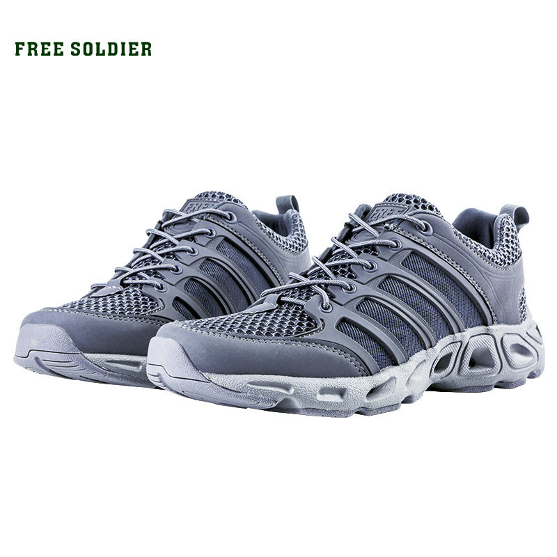 FREE SOLDIER Outdoor Sport Hiking Shoes Tactical Shoes For Men