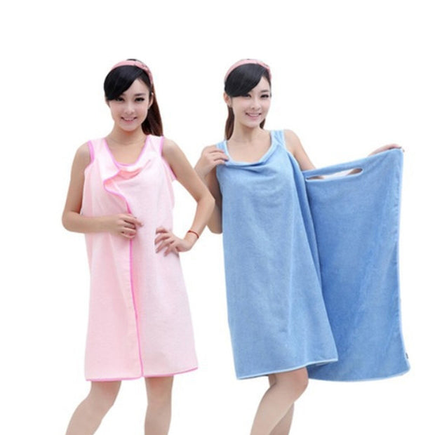 Microfiber towels Bathrobes 3 colors magic bath towls birthday gifts