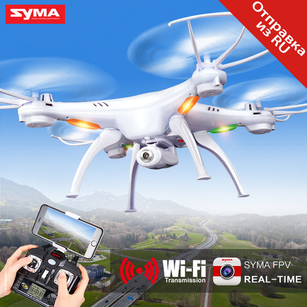 SYMA X5SW RC Drone Wifi Camera Quadcopter Real Time Transmit FPV