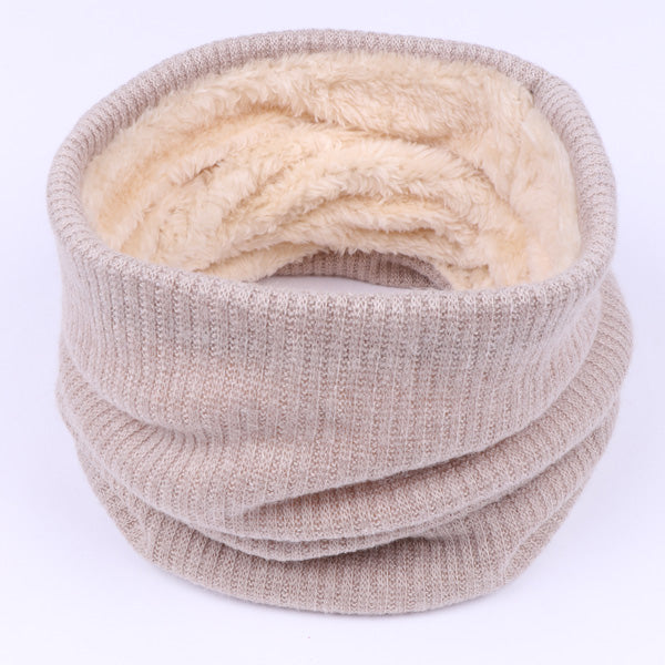 2017 Fashion Winter Scarf For Women Solid Color Thickened Wool