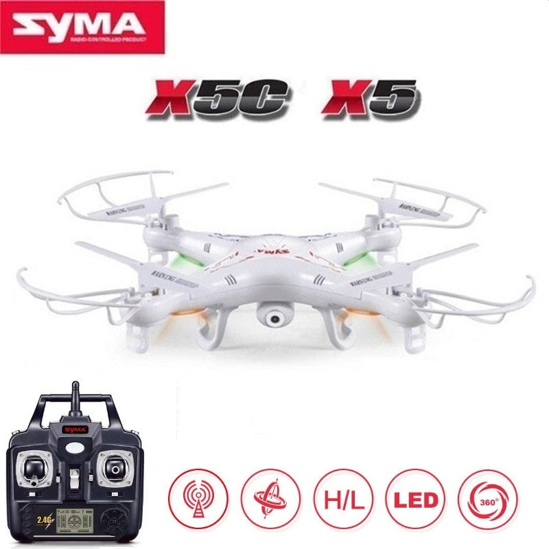 100% Original SYMA X5C (Upgrade Version) RC Drone With 2MP HD Camera