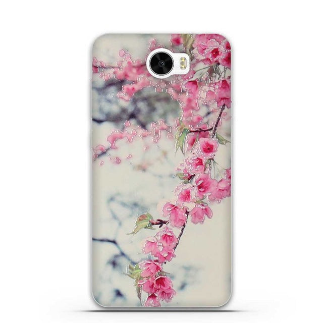 3D Skin Painted Soft TPU Phone Case for Huawei Y5 II Y5 2 Silicon