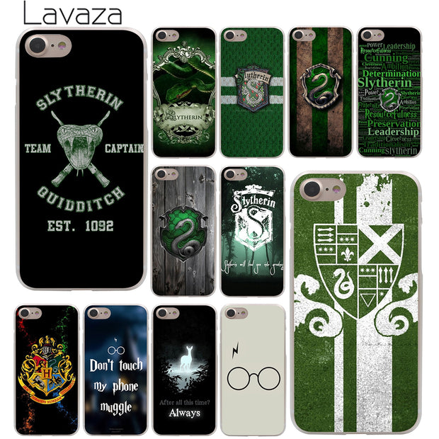 Lavaza Harry Potter Slytherin School Crest Hard Phone Cover Case for