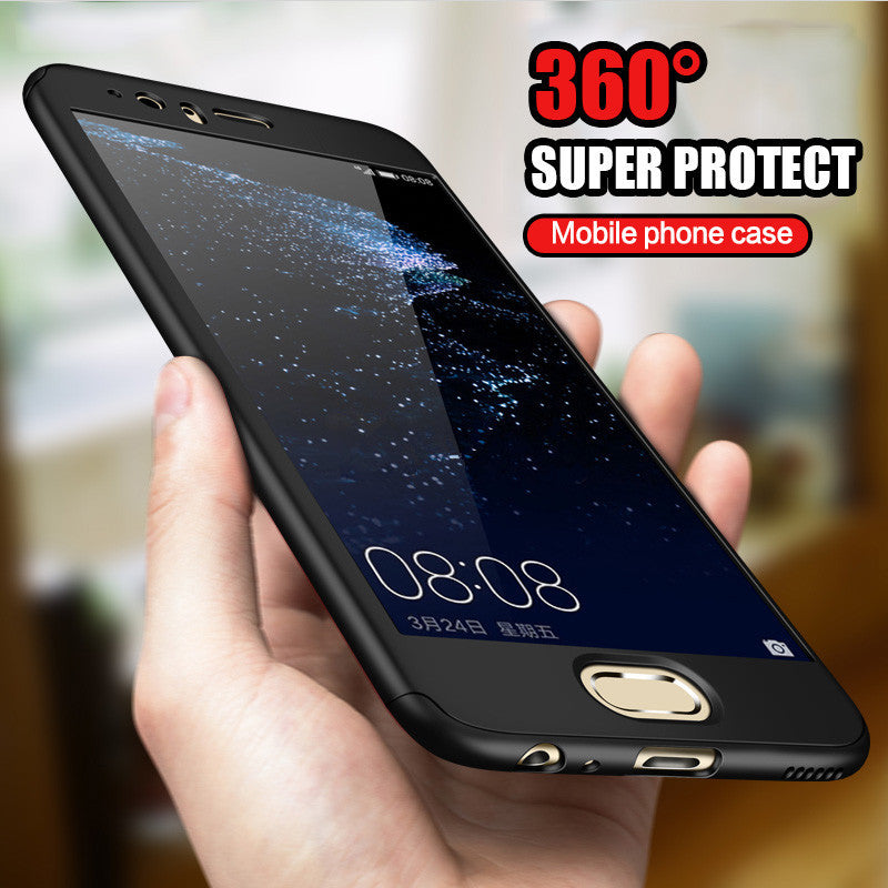 360 Degree Full Coverage Case For Huawei P9 P10 lite P10 Cover Phone