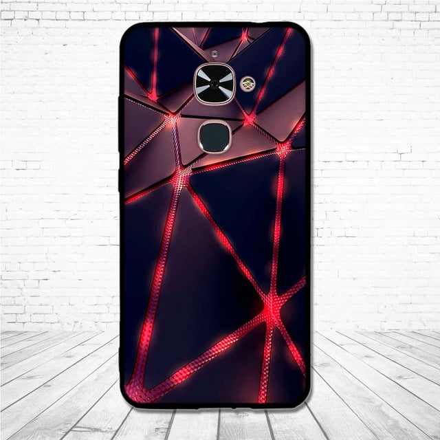 3D Relief Soft TPU Case For Letv Le 2 Pro Le2 X620 Silicon Cover For