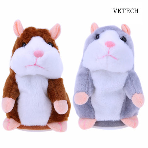Talking Hamster Electronic Pets Talking Baby Toys Plush Dolls Sound Record Speaking Hamster Talking Toy Toys for Children
