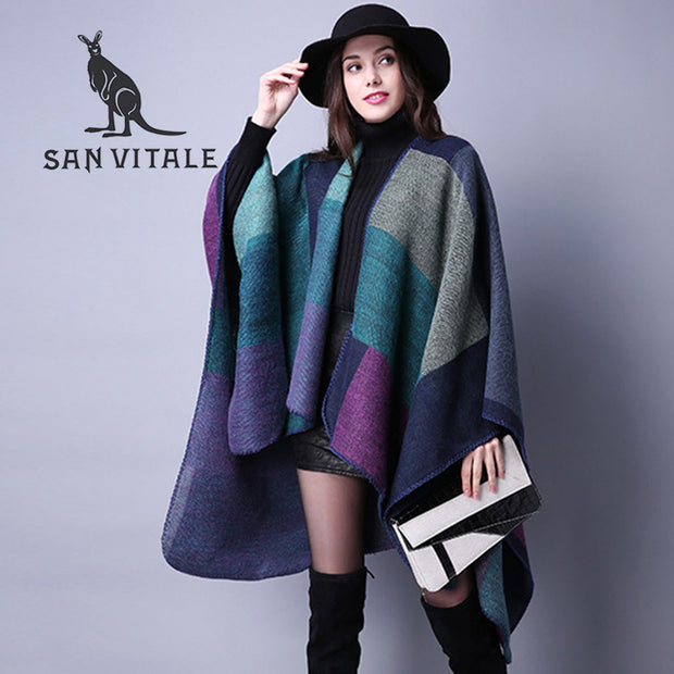 Scarves Women Scarf Pashmina Cashmere Ponchos And Capes Top Quality