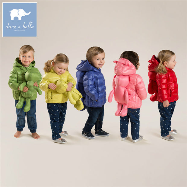 DB4669 dave bella winter infant coat baby girls boys 11 color with