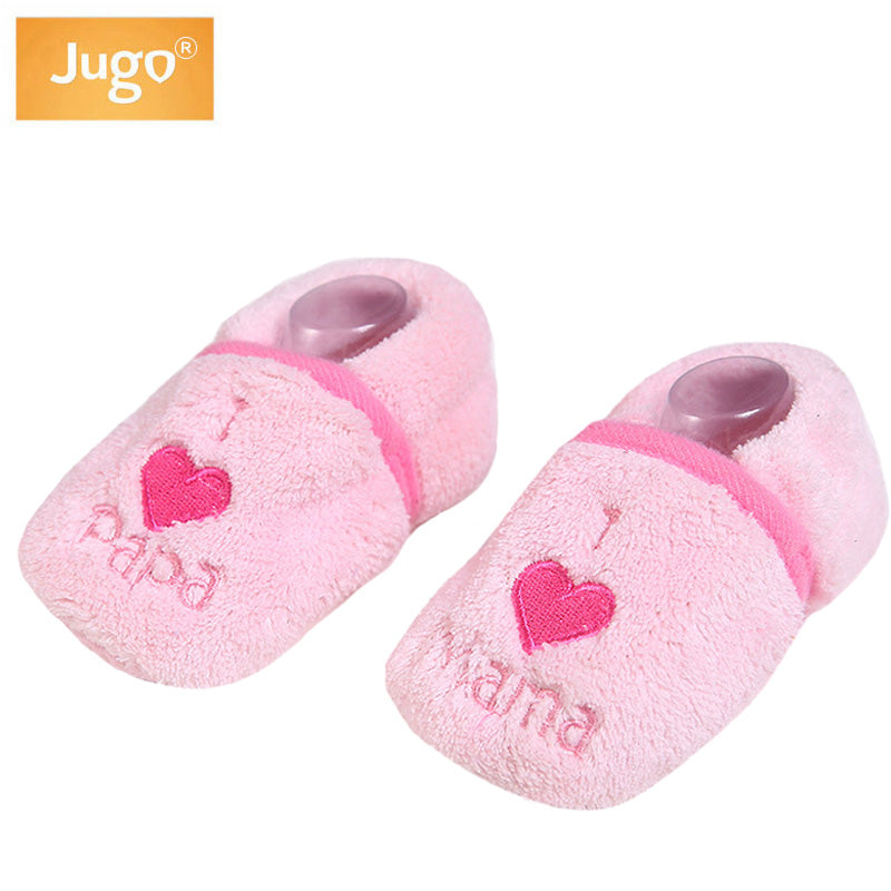 Baby Slippers Shoes Girls Winter Warm Lovely Flock First Walkers Bears