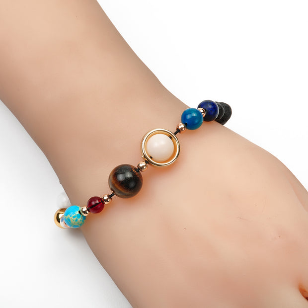 fashion Circular planet Bracelet Lucky beads Buddha beads Bracelets