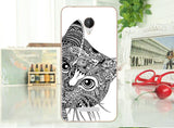 For Micromax Canvas Spark Q380 Case Cover, 14 Patterns Colored Painting soft tpu Case FOR Micromax Q380 Protective Back Case