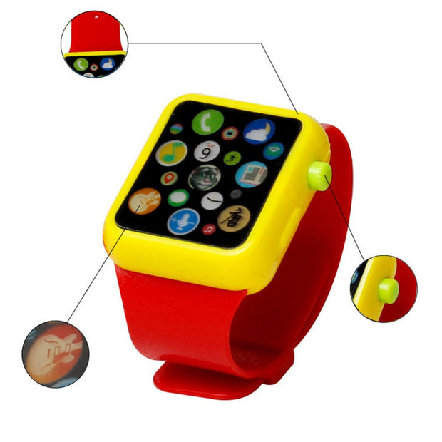 Kids Children Smart Watch Early Education 3D Touch Screen Music