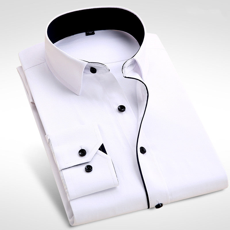 Brand New Men Shirt Male Dress Shirts Men's Fashion Casual Long Sleeve