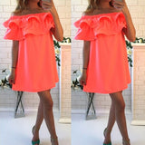 new summer dresses sexy short sleeve beach dress fashion colorful women dress casual hot sale mini dresses vestidos cd1329