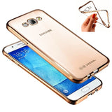 Case for Samsung Galaxy J1 J3 J5 J7 A3 A5 A7 A8 A9 A310 A510 A710 Fashion Luxury High Quality Plating Design Cover
