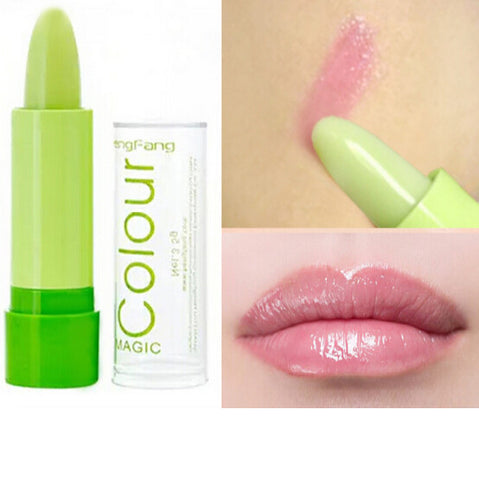 Super Deals Women Mouth Care Magic Color Changing Lipstick Makeup Fruity Moisturizer Lipstick