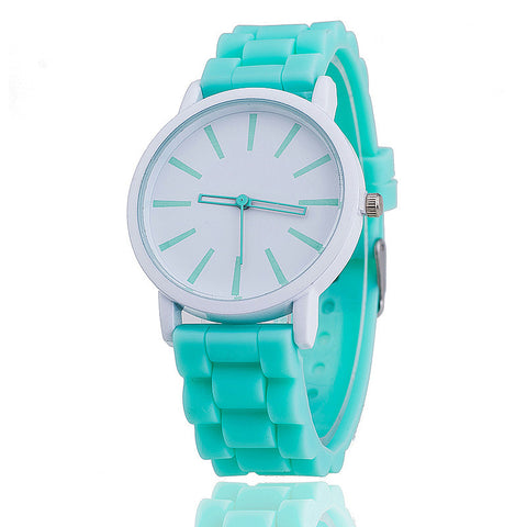 VANSVAR Fashion Women Silicone Watch Hot Casual Quartz Watch Ladies Wrist Watch Relogio Feminino Montre Femme Gift 377