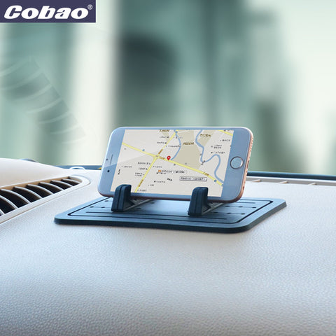 Cobao Soft Silicone Mobile Phone Holder Car Dashboard GPS Anti Slip Mat Desktop Stand Bracket for iPhone 5s 6 Samsung Tablet GPS