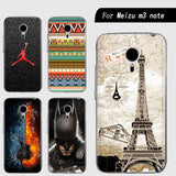 Phone case For Meizu m3 note/Meizu Blue Charm Note 3 Cute Cartoon High Quality Painted PC Hard Case Skin Back Cover Shell