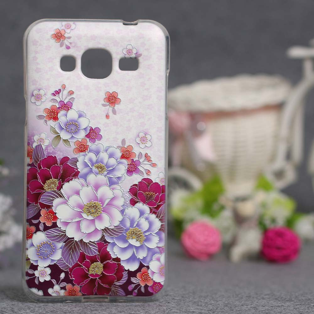 Case For Samsung Galaxy J3 J320 J320F J320P Painting Pattern Soft