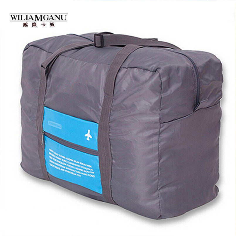 WILIAMGANU Fashion WaterProof Travel Bag Large Capacity Bag Women