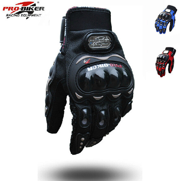 Men Motorcycle Gloves Outdoor Sports Full Finger Knight Riding