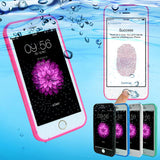 Shockproof Dustproof Underwater Diving Waterproof Cases Cover For iphone 7 6 6S Plus 5 5S SE Phone Bag Shell Outdoor Case Cover