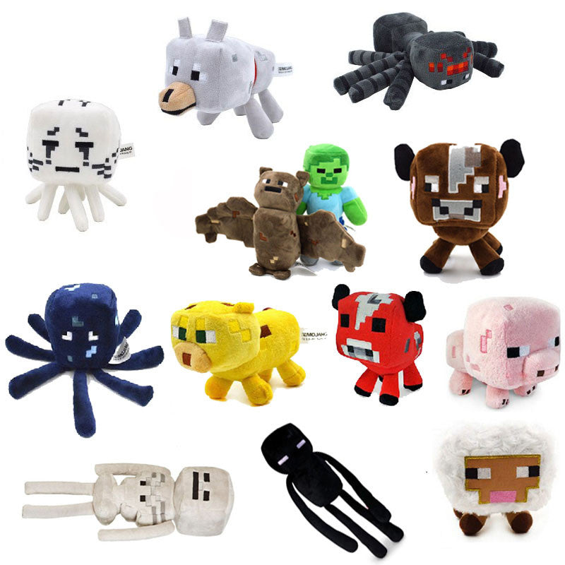 Minecraft Plush Toys 13 Styles Soft Stuffed Animal Doll Kids Game