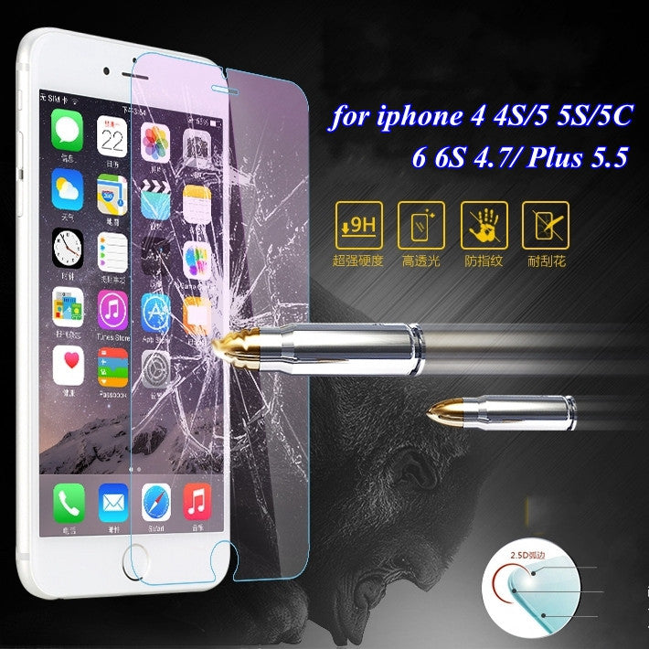 for iphone 7 plus Ultrathin Tempered Glass Protector Clear Case for