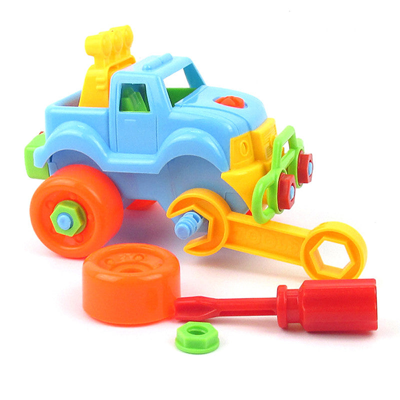 Baby Plastic Car Toy Disassembly Assembly Classic Cars Truck Toys