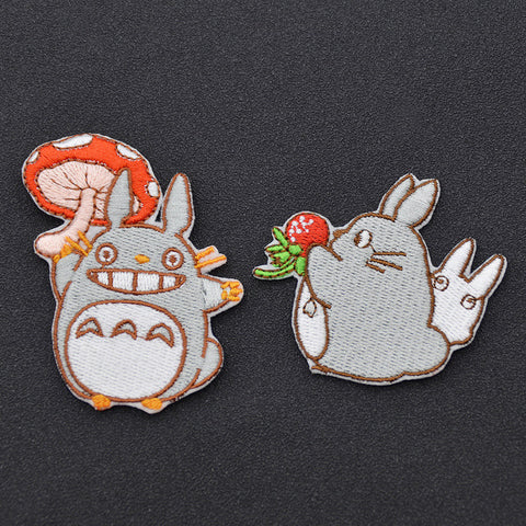 Cartoon Anime My Neighbor Totoro Embroidered Patch Handmade Sew on Iron on Patch Craft