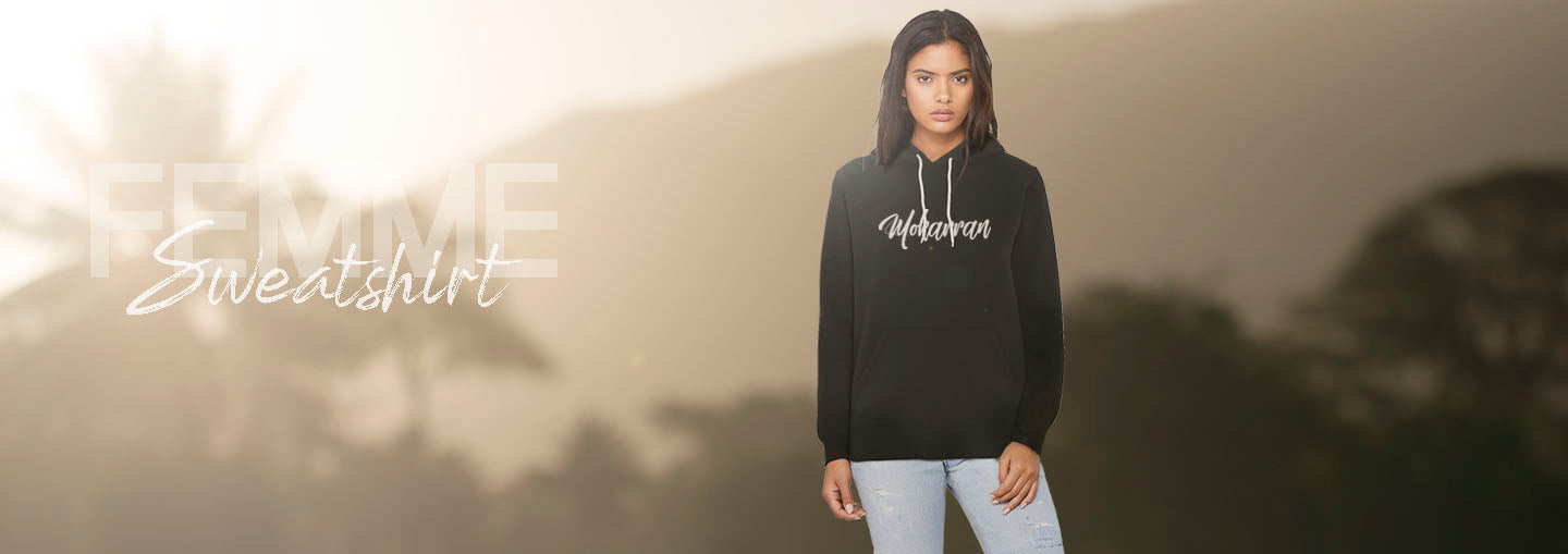 Mokarran women's diving sweatshirt collection