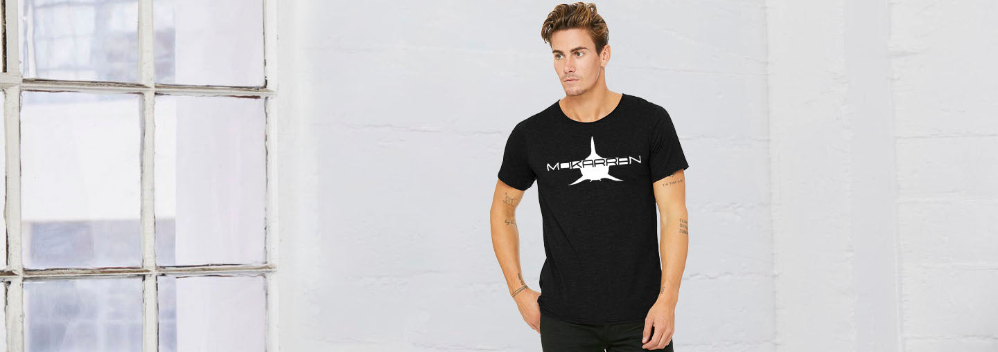 Mokarran raw-necked shark t-shirt for men