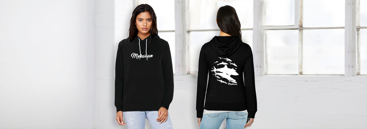 Sweat shirt requins