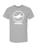 diving t-shirt 400 million years Rangiroa gray