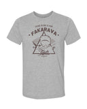 tiger shark gray fakarava t-shirt