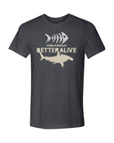 Gray hammerhead shark diving t-shirts