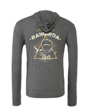 Rangiroa tiger shark diving sweatshirts gray