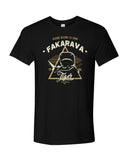 tiger shark black fakarava t-shirt
