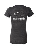 Shark Education 2020 Women's V-Neck T-shirt
