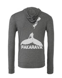 Gray Fakarava whale diving sweatshirts