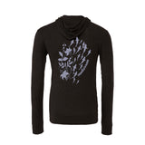 Flowers sharks light sweatshirt