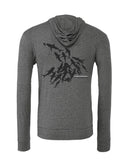 Sweat shirts plongée requins gris Tikehau